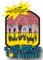 St. Louis Earth Day 2012 Logo: This is the logo for the St. Louis Earth Day Festival of 2012. Heroes for the Planet: Ordinary People, Extraordinary Actions!