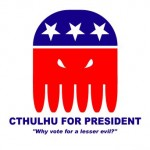 Cthulhu for President by xalres.